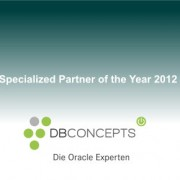 Oracle Excellence Specialized Partner of the Year 2012 Award