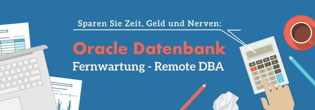 Remote Oracle DBA Dienstleistung