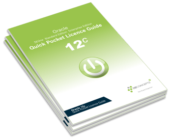 Ansicht Oracle Quick Pocket Licence Guide Download