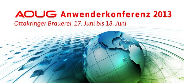 AOUG Anwenderkonferenz 2013
