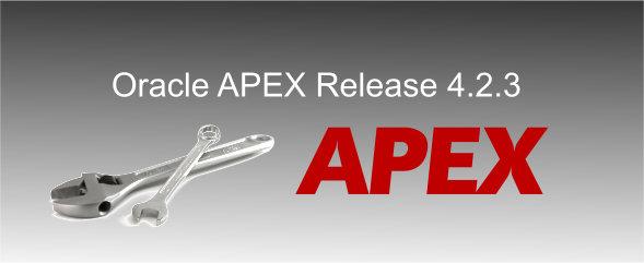 Oracle APEX 4.2.3
