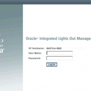 Oracle Integrated Lights Out Manager