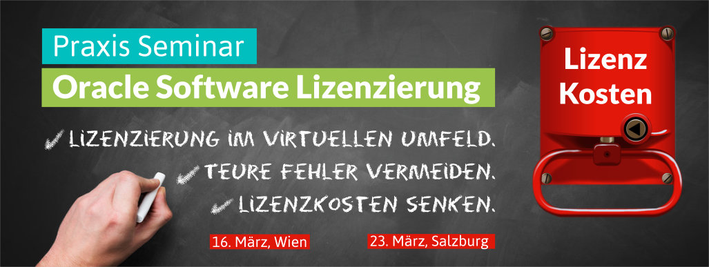 Seminar Oracle Software Lizenzierung