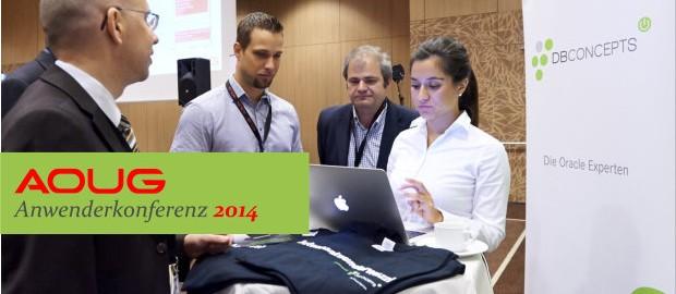 AOUG Anwenderkonferenz 2014 Messestand DBConcepts