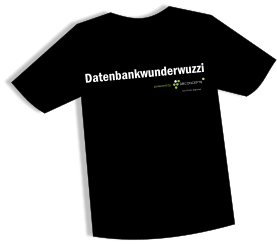 Datenbankwunderwuzzi T-Shirt