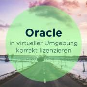 Oracle VMware lizenzieren