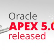 Oracle APEX 5.0