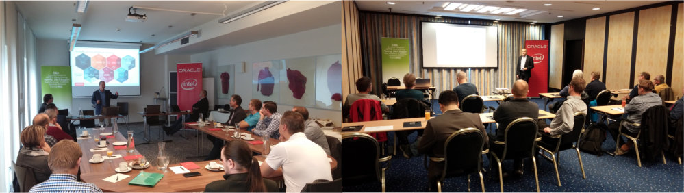 Impressionen der Vorträge in Graz und Innsbruck