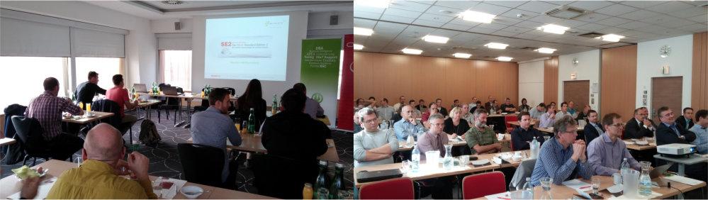 Teilnehmer Business Breakfast zum Thema Oracle SE2 in Salzburg