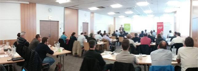 Teilnehmer beim Business Breakfast Oracle Standard Edition 2 in Wien