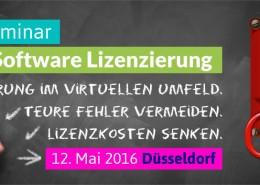 Düsseldorf Oracle Lizenzierung Seminar Kostenbremse