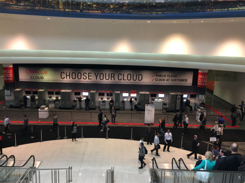 Oracle Open World 2016 choose your cloud