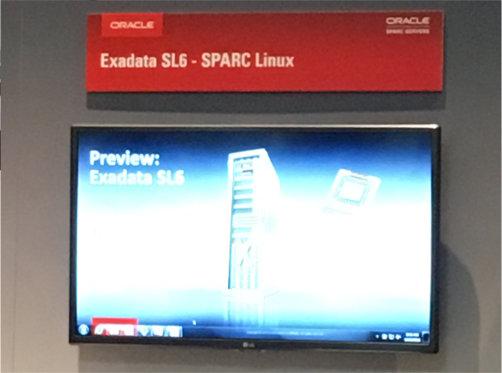 OOW präsentiert die neue Oracle Exadata SL6 Sparc