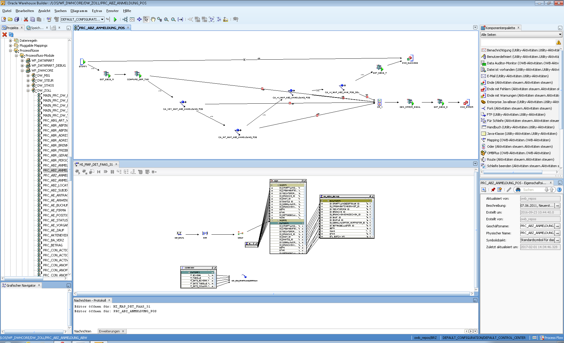 Oracle Warehouse Builder OWB