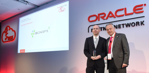 Oracle EMEA Partner of the Year 2017 Preisverleihung
