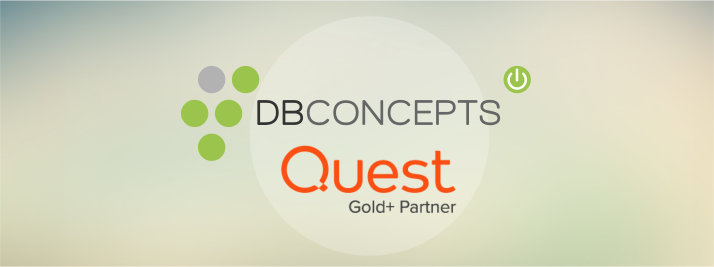 DBConcepts ist Quest Gold Plus Partner