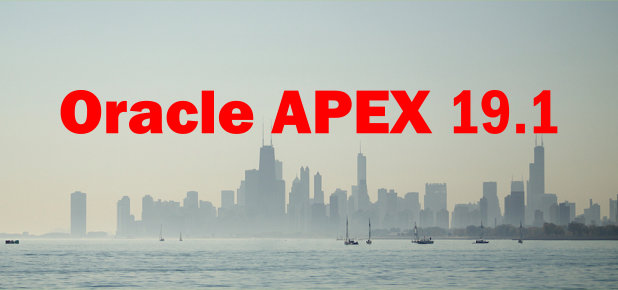Oracle APEX-Version 19 1 veröffentlicht
