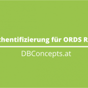 OAUTH2 Authentifizierung für ORDS REST Services
